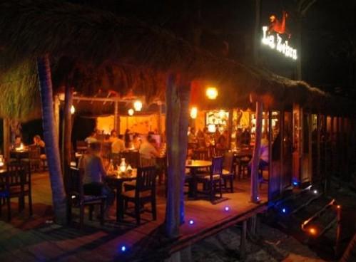 La Zebra, romántico restaurante en las playas de Tulum