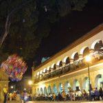 El Zócalo, la Plaza de la Constitución en Oaxaca