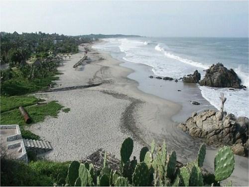 Playa Zicatela, paraíso del surf en Oaxaca