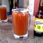 La michelada, bebida típica de México
