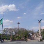 La Plaza de la Patria en Aguascalientes