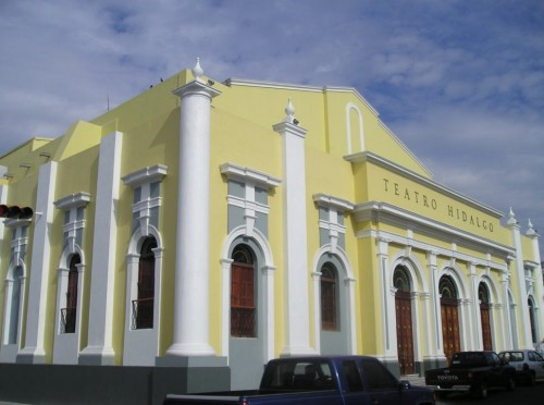 Teatro Hidalgo, centro cultural de Colima