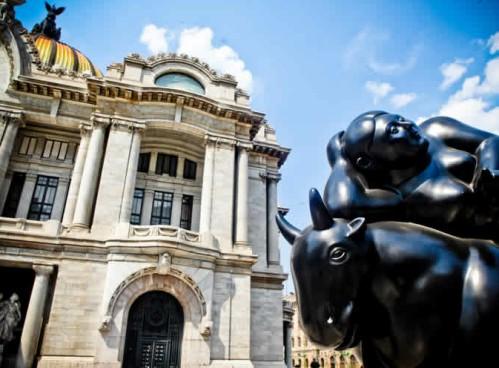La obra de Fernando Botero en el Palacio de Bellas Artes