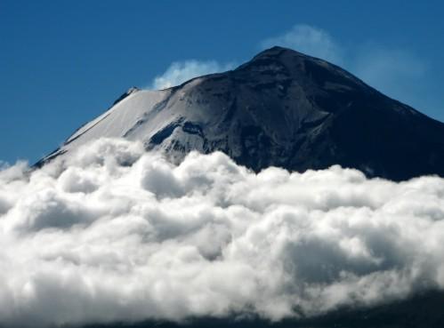 Popocatépetl, volcán todavía en actividad