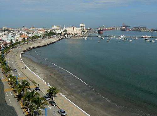 Playas en el Puerto de Veracruz
