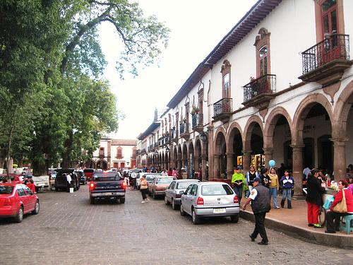 Pátzcuaro, pueblo típico de Michoacán