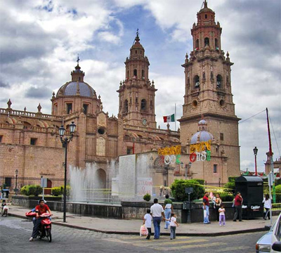 Morelia, capital de Michoacan