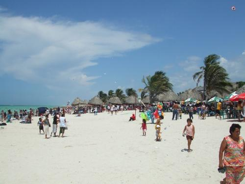 Pueblos en la costa de Yucatán