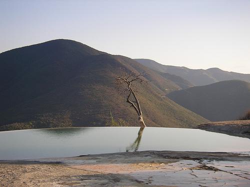 Sitio balnearios en Oaxaca