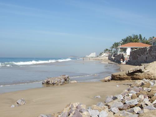 Las playas del estado de Sinaloa