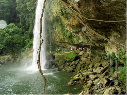 Descubrir las cascadas de Chiapas