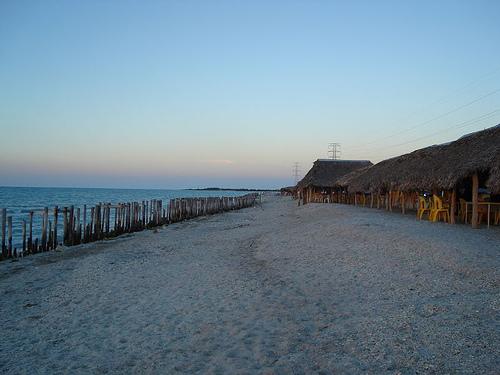 Playa Bahamitas en Ciudad Del Carmen