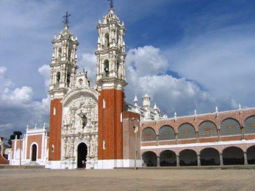 La Basílica de Ocotlán, en Tlaxcala