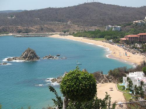 Playas en el estado de Oaxaca