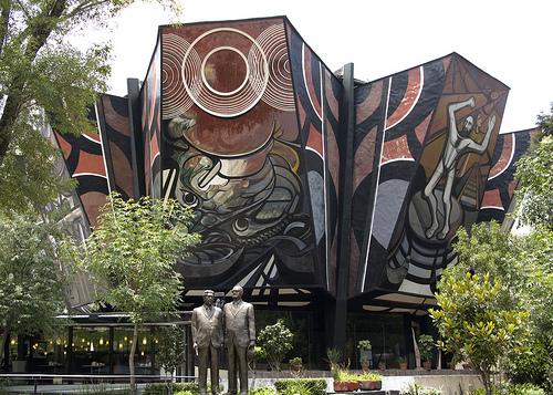 Teatro Polyforum Cultural Siqueiros, Ciudad de México