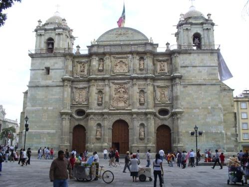 La catedral de Oaxaca