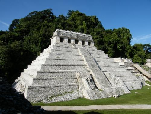 El templo de las Inscripciones, en Chiapas
