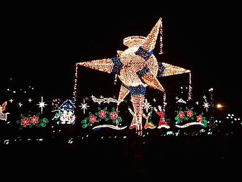 Piñata de Navidad