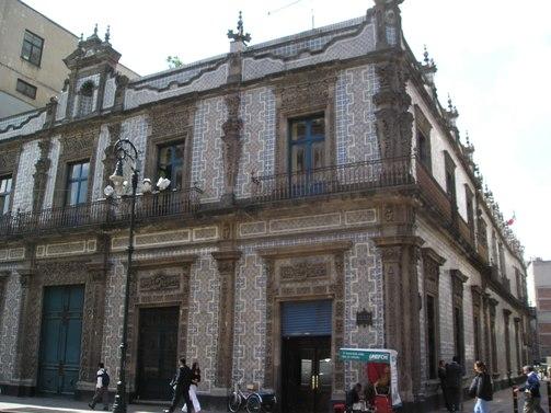 Visita a la casa de los azulejos for Casa de los azulejos ciudad de mexico