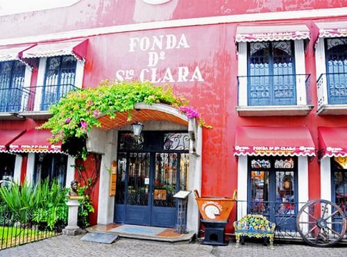 Fonda Santa Clara, comida típica en Puebla