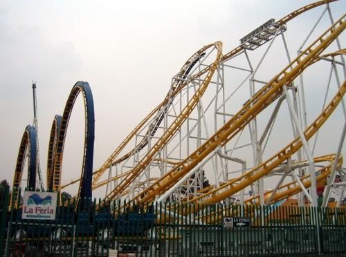 La Feria de Chapultepec, gran parque de diversiones