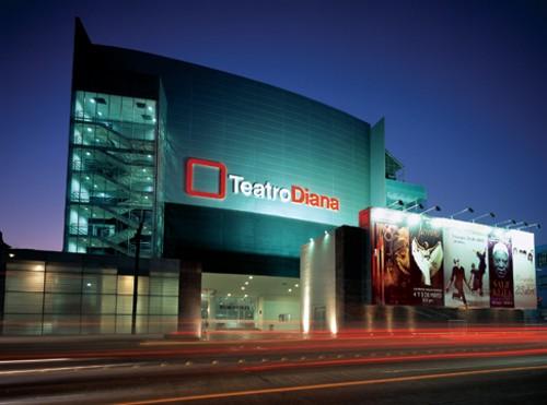 El Teatro Diana, en Guadalajara