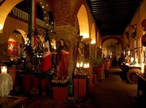 Fonda de San Miguel, gastronomía en el convento