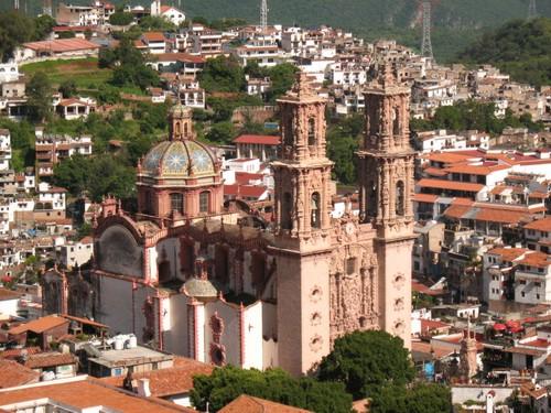 Templo de Santa Prisca, en Taxco de Alarcón