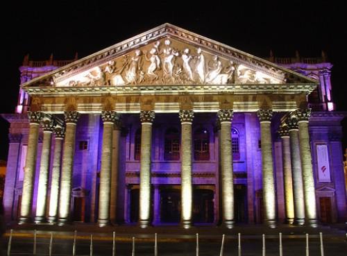 Teatro Degollado, en Guadalajara