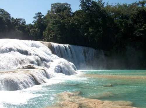 El Parque Nacional Cascadas de Agua Azul