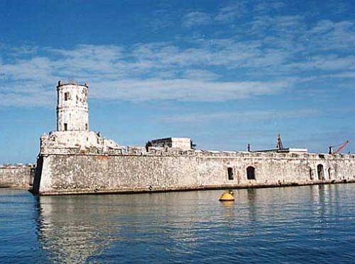 Fuerte de San Juan De Ulúa, en Veracruz