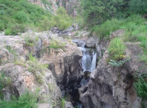 Peñón Blanco, a 2.500 metros de altura