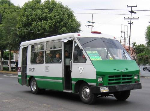 Microbus de Mexico